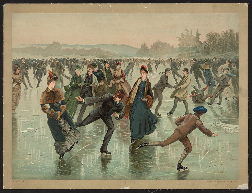 Ice Skaters - LOC